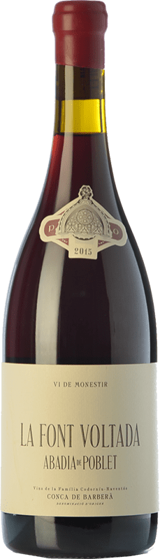 33,95 € Free Shipping   Red wine Abadia de Poblet La Font Voltada Crianza D.O. Conca de Barberà Catalonia Spain Trepat Bottle 75 cl