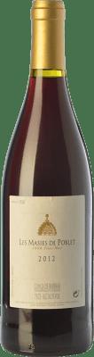 22,95 € Free Shipping   Red wine Abadia de Poblet Les Masies Crianza D.O. Conca de Barberà Catalonia Spain Pinot Black Bottle 75 cl