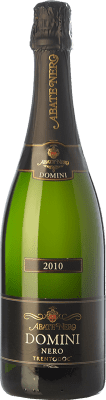 32,95 € Free Shipping | White sparkling Abate Nero Domini Nero Brut 2010 D.O.C. Trento Trentino Italy Pinot Black Bottle 75 cl | Thousands of wine lovers trust us to get the best price guarantee, free shipping always and hassle-free shopping and returns.