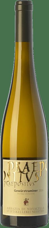 17,95 € Free Shipping | White wine Abbazia di Novacella Praepositus D.O.C. Alto Adige Trentino-Alto Adige Italy Gewürztraminer Bottle 75 cl