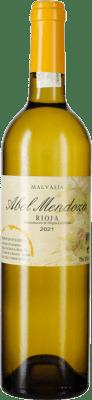21,95 € Kostenloser Versand | Weißwein Abel Mendoza Crianza D.O.Ca. Rioja La Rioja Spanien Malvasía Flasche 75 cl