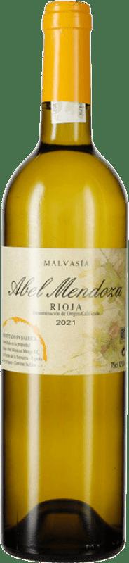 21,95 € Envoi gratuit | Vin blanc Abel Mendoza Crianza D.O.Ca. Rioja La Rioja Espagne Malvasía Bouteille 75 cl