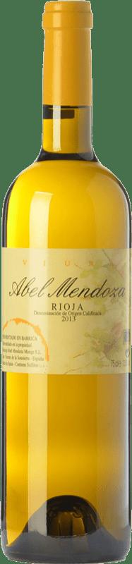25,95 € Free Shipping | White wine Abel Mendoza Crianza D.O.Ca. Rioja The Rioja Spain Viura Bottle 75 cl