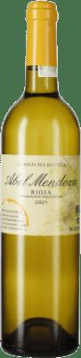21,95 € Kostenloser Versand | Weißwein Abel Mendoza Garnacha Crianza D.O.Ca. Rioja La Rioja Spanien Grenache Weiß Flasche 75 cl