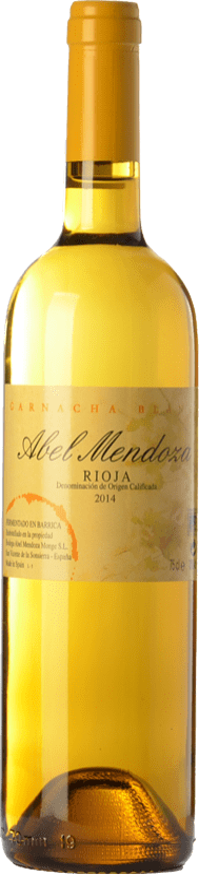 21,95 € Envoi gratuit | Vin blanc Abel Mendoza Garnacha Crianza D.O.Ca. Rioja La Rioja Espagne Grenache Blanc Bouteille 75 cl