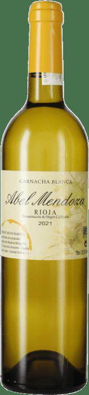 21,95 € Free Shipping | White wine Abel Mendoza Garnacha Crianza D.O.Ca. Rioja The Rioja Spain Grenache White Bottle 75 cl