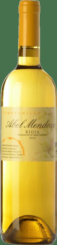 21,95 € Envoi gratuit | Vin blanc Abel Mendoza Tempranillo Crianza D.O.Ca. Rioja La Rioja Espagne Tempranillo Blanc Bouteille 75 cl