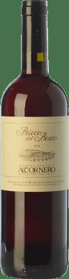 15,95 € Free Shipping | Red wine Accornero Bricco del Bosco D.O.C. Grignolino del Monferrato Casalese Piemonte Italy Grignolino Bottle 75 cl
