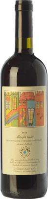 21,95 € Free Shipping | Red wine Accornero Girotondo D.O.C. Monferrato Piemonte Italy Nebbiolo Bottle 75 cl