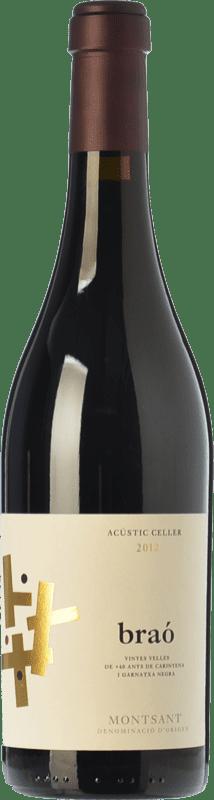 22,95 € Envío gratis | Vino tinto Acústic Braó Crianza D.O. Montsant Cataluña España Garnacha, Cariñena Botella 75 cl