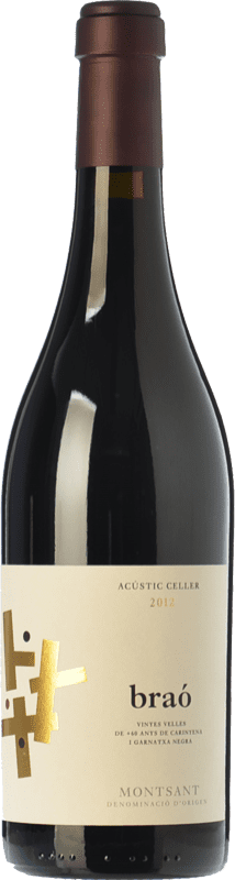 64,95 € Free Shipping | Red wine Acústic Braó Crianza D.O. Montsant Catalonia Spain Grenache, Carignan Magnum Bottle 1,5 L
