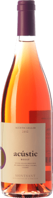 12,95 € Free Shipping | Rosé wine Acústic Rosat D.O. Montsant Catalonia Spain Grenache, Carignan, Grenache Grey Bottle 75 cl