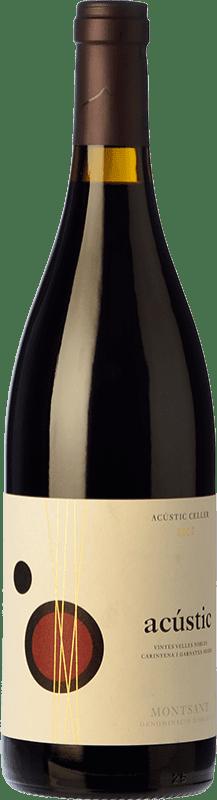 11,95 € Envío gratis | Vino tinto Acústic Crianza D.O. Montsant Cataluña España Garnacha, Samsó Botella 75 cl