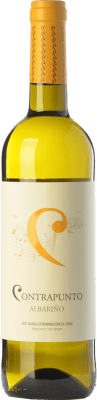 8,95 € Free Shipping | White wine Agro de Bazán Contrapunto D.O. Rías Baixas Galicia Spain Albariño Bottle 75 cl | Thousands of wine lovers trust us to get the best price guarantee, free shipping always and hassle-free shopping and returns.