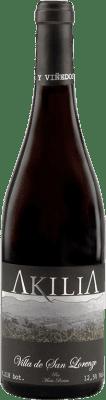 17,95 € Free Shipping   Red wine Akilia Villa San Lorenzo Crianza D.O. Bierzo Castilla y León Spain Mencía Bottle 75 cl