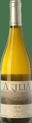 15,95 € Free Shipping   White wine Akilia Villa San Lorenzo Crianza D.O. Bierzo Castilla y León Spain Palomino Fino, Doña Blanca Bottle 75 cl
