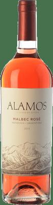 9,95 € Free Shipping | Rosé wine Alamos Rosé I.G. Mendoza Mendoza Argentina Malbec Bottle 75 cl