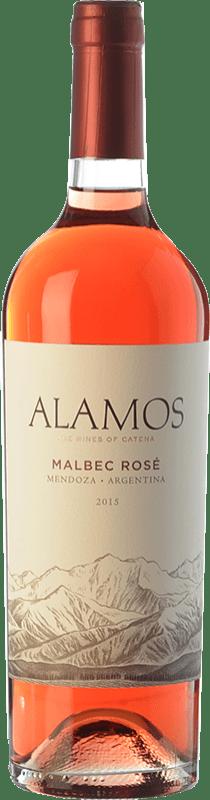7,95 € Envoi gratuit | Vin rose Alamos Rosé I.G. Mendoza Mendoza Argentine Malbec Bouteille 75 cl