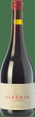 28,95 € Free Shipping   Red wine Albamar O Esteiro Joven D.O. Rías Baixas Galicia Spain Mencía, Caíño Black, Espadeiro Bottle 75 cl