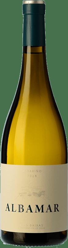 14,95 € Free Shipping | White wine Albamar D.O. Rías Baixas Galicia Spain Albariño Bottle 75 cl