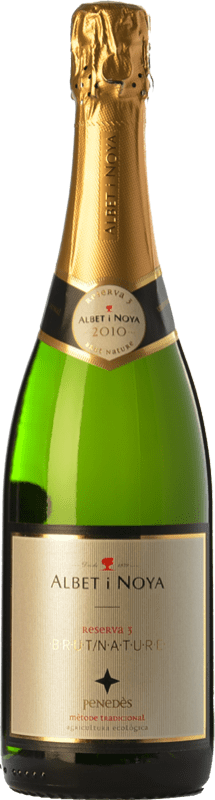 14,95 € Free Shipping | White sparkling Albet i Noya 3 Brut Nature Reserva D.O. Penedès Catalonia Spain Macabeo, Xarel·lo, Chardonnay, Parellada Bottle 75 cl. | Thousands of wine lovers trust us to get the best price guarantee, free shipping always and hassle-free shopping and returns.