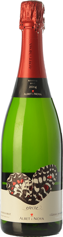 13,95 € Free Shipping | White sparkling Albet i Noya Efecte Brut Reserva D.O. Penedès Catalonia Spain Macabeo, Xarel·lo, Chardonnay, Parellada Bottle 75 cl