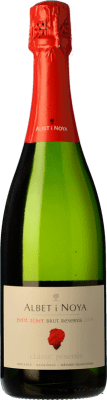 9,95 € Free Shipping | White sparkling Albet i Noya Petit Albet Brut D.O. Penedès Catalonia Spain Macabeo, Xarel·lo, Parellada Bottle 75 cl | Thousands of wine lovers trust us to get the best price guarantee, free shipping always and hassle-free shopping and returns.