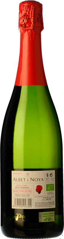 9,95 € Free Shipping | White sparkling Albet i Noya Petit Albet Brut D.O. Penedès Catalonia Spain Macabeo, Xarel·lo, Parellada Bottle 75 cl. | Thousands of wine lovers trust us to get the best price guarantee, free shipping always and hassle-free shopping and returns.