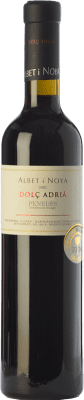 27,95 € Free Shipping | Sweet wine Albet i Noya Dolç Adrià 2008 D.O. Penedès Catalonia Spain Merlot, Syrah Half Bottle 50 cl | Thousands of wine lovers trust us to get the best price guarantee, free shipping always and hassle-free shopping and returns.