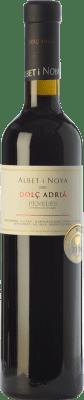 22,95 € Envío gratis | Vino dulce Albet i Noya Dolç Adrià D.O. Penedès Cataluña España Merlot, Syrah Media Botella 50 cl