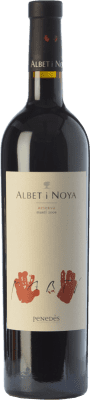 34,95 € Free Shipping | Red wine Albet i Noya Martí Reserva 2009 D.O. Penedès Catalonia Spain Syrah, Cabernet Sauvignon Bottle 75 cl. | Thousands of wine lovers trust us to get the best price guarantee, free shipping always and hassle-free shopping and returns.