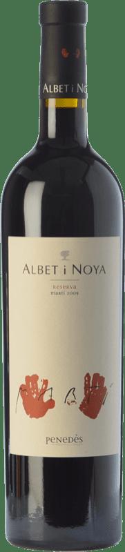 33,95 € Envío gratis | Vino tinto Albet i Noya Martí Reserva D.O. Penedès Cataluña España Syrah, Cabernet Sauvignon Botella 75 cl
