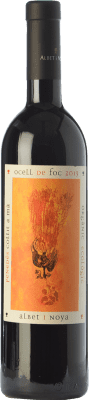 12,95 € Free Shipping | Red wine Albet i Noya Ocell de Foc Crianza D.O. Penedès Catalonia Spain Marcelan, Caladoc, Arinarnoa Bottle 75 cl. | Thousands of wine lovers trust us to get the best price guarantee, free shipping always and hassle-free shopping and returns.