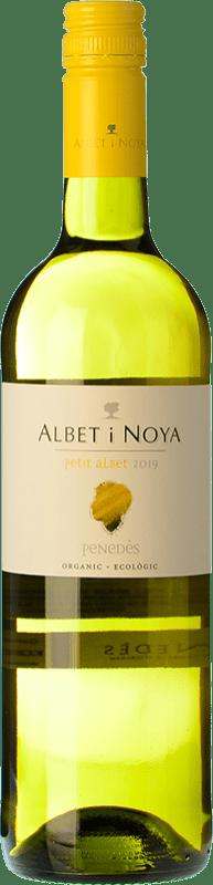 6,95 € Envío gratis | Vino blanco Albet i Noya Petit Albet Blanc D.O. Penedès Cataluña España Macabeo, Xarel·lo, Chardonnay Botella 75 cl