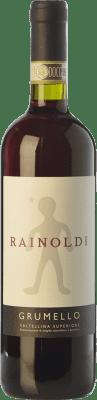 18,95 € Envoi gratuit | Vin rouge Rainoldi Grumello D.O.C.G. Valtellina Superiore Lombardia Italie Nebbiolo Bouteille 75 cl
