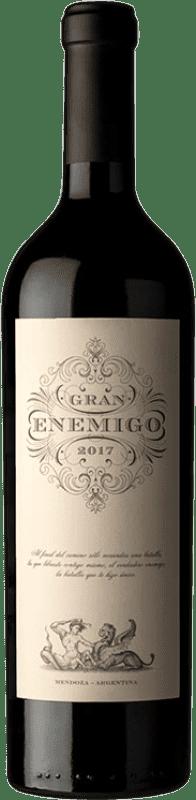 67,95 € Envío gratis | Vino tinto Aleanna Gran Enemigo Reserva I.G. Mendoza Mendoza Argentina Cabernet Sauvignon, Cabernet Franc, Malbec, Petit Verdot Botella 75 cl