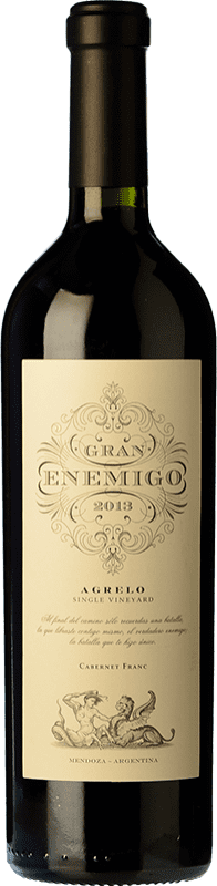 104,95 € Envoi gratuit | Vin rouge Aleanna Gran Enemigo Agrelo Single Vineyard Crianza I.G. Mendoza Mendoza Argentine Cabernet Franc, Malbec Bouteille 75 cl