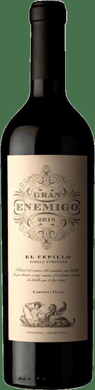 104,95 € Envoi gratuit | Vin rouge Aleanna Gran Enemigo El Cepillo Cabernet Franc Crianza I.G. Mendoza Mendoza Argentine Cabernet Franc, Malbec Bouteille 75 cl