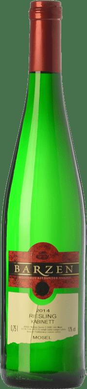 18,95 € Free Shipping   White wine Barzen Kabinett Q.b.A. Mosel Rheinland-Pfälz Germany Riesling Bottle 75 cl