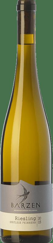 19,95 € Free Shipping   White wine Barzen Spätlese Feinherb Q.b.A. Mosel Rheinland-Pfälz Germany Riesling Bottle 75 cl