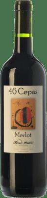 11,95 € Envoi gratuit | Vin rouge Maestro Tejero 46 Cepas Joven I.G.P. Vino de la Tierra de Castilla y León Castille et Leon Espagne Merlot Bouteille 75 cl