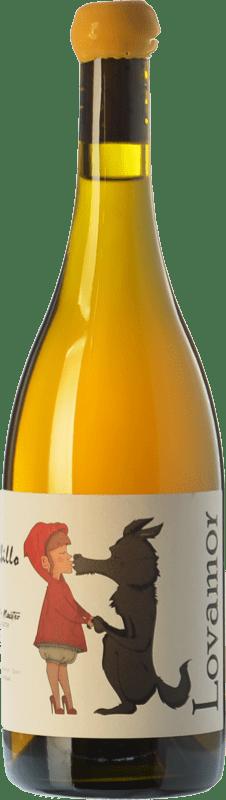 8,95 € Envío gratis | Vino blanco Maestro Tejero Lovamor I.G.P. Vino de la Tierra de Castilla y León Castilla y León España Albillo Botella 75 cl