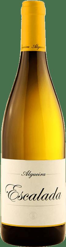 49,95 € Envoi gratuit | Vin blanc Algueira Escalada Crianza D.O. Ribeira Sacra Galice Espagne Godello Bouteille 75 cl