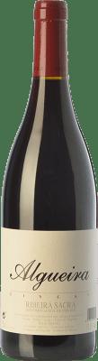 52,95 € Free Shipping | Red wine Algueira Fincas Crianza D.O. Ribeira Sacra Galicia Spain Sousón, Caíño Black Bottle 75 cl