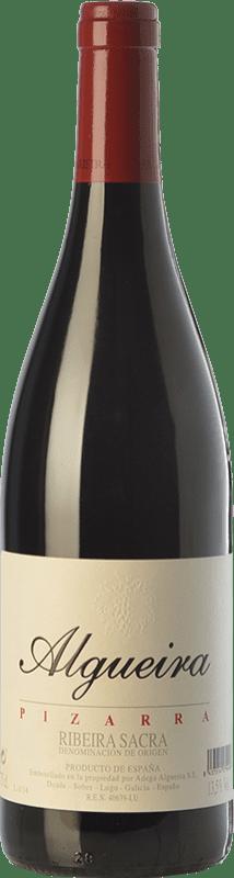 46,95 € Envoi gratuit | Vin rouge Algueira Pizarra Crianza D.O. Ribeira Sacra Galice Espagne Mencía Bouteille 75 cl