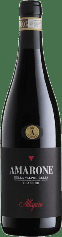 79,95 € Envío gratis | Vino tinto Allegrini Classico D.O.C.G. Amarone della Valpolicella Veneto Italia Corvina, Rondinella, Corvinone, Oseleta Botella 75 cl