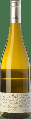 12,95 € Free Shipping | White wine Almaroja Pirita D.O. Arribes Castilla y León Spain Malvasía, Muscat, Godello, Albilla de Manchuela Bottle 75 cl