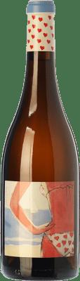32,95 € Free Shipping | White wine Almázcara Majara Demasiado Corazón Crianza D.O. Bierzo Castilla y León Spain Godello Bottle 75 cl