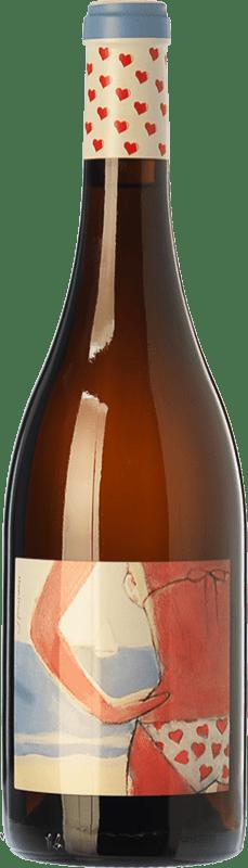 26,95 € Free Shipping   White wine Almázcara Majara Demasiado Corazón Crianza D.O. Bierzo Castilla y León Spain Godello Bottle 75 cl