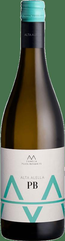 9,95 € Free Shipping | White wine Alta Alella AA D.O. Alella Catalonia Spain Pensal White Bottle 75 cl